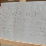 PLACA GRECOLATINA