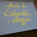 Caligrafia antica