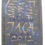Caligrafía en la Feria del Libro de Jaca 2012