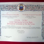 Medalla Francisco de Vitoria